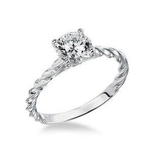 Jewelry - 2 carat Sparkling round cut diamond engagement
